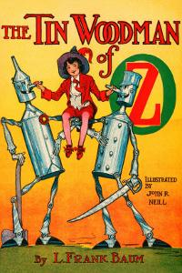 Thetin Woodsman of Oz by John R. Neill