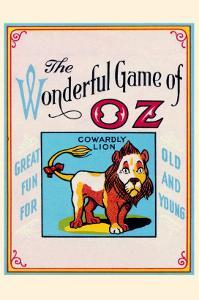 Thewonderful Game of Oz - Cowardly Lion by John R^ Neill