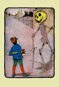 Tip and Jack Pumkinhead by John R^ Neill