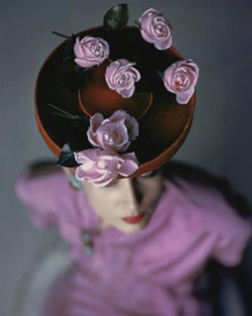 Vogue - August 1944 - Blossoming Hat