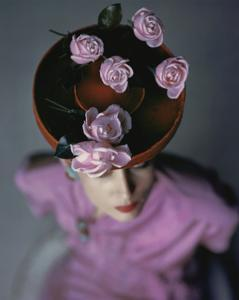 Vogue - August 1944 - Blossoming Hat by John Rawlings