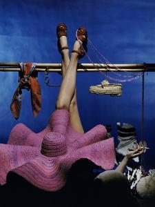 Vogue - January 1944 - Recreational Activities by John Rawlings