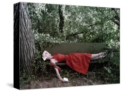 Vogue - January 1948 - Little Red Dress