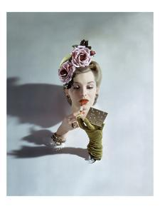 Vogue - March 1943 - Touch-up by John Rawlings