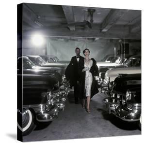 Vogue - November 1952 - Parking Garage by John Rawlings