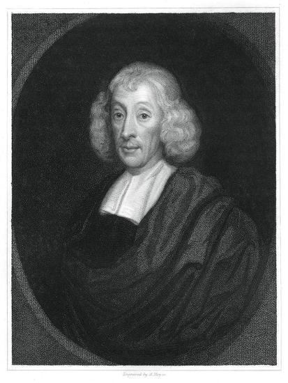 John Ray, English Naturalist-H Mayer-Giclee Print