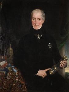 Dr. William Reid Clanny, 1841-1850 by John Reay