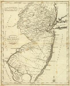 State of New Jersey, c.1796 by John Reid