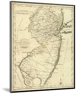 State of New Jersey, c.1796 by John Reid