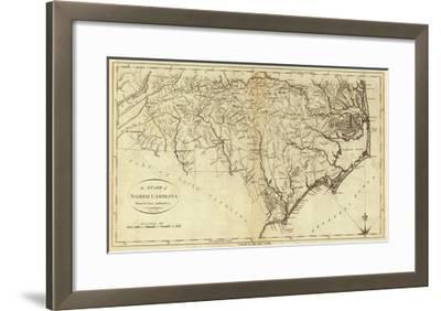 State of North Carolina, c.1796