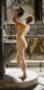 The Bath by John Reinhard Weguelin