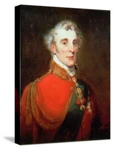 Portrait of Arthur Wellesley, 1st Duke of Wellington (1769-1852) Wearing the Order of the Golden… by John Robert Wildman