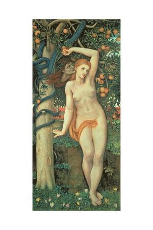 Eve Tempted, C.1877