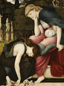 Patience on a Monument Smiling at Grief by John Roddam Spencer Stanhope