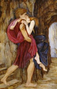 The Escape, circa 1900 by John Roddam Spencer Stanhope