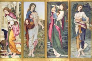 The Labours of Psyche, 1873 by John Roddam Spencer Stanhope