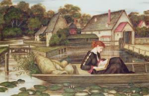 The Mill by John Roddam Spencer Stanhope