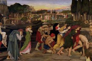 The Waters of Lethe by the Plains of Elysium, C.1880 by John Roddam Spencer Stanhope