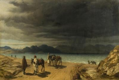 Landscape with Lake and Greek Soldiers