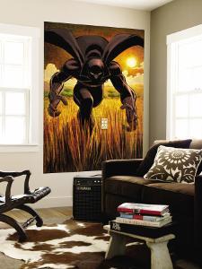 Black Panther No.1 Cover: Black Panther by John Romita Jr^