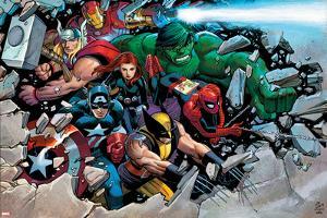 Son of Marvel Reading Chronology Cover: Thor by John Romita Jr^