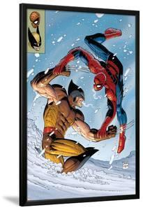 What If? Spider-Man Vs. Wolverine No.1 Cover: Spider-Man and Wolverine by John Romita Jr^
