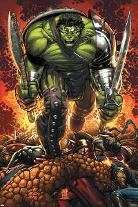 World War Hulk Prologue: World Breaker Cover: Hulk by John Romita Jr^