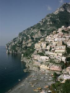Positano, Costiera Amalfitana (Amalfi Coast), Unesco World Heritage Site, Campania, Italy by John Ross