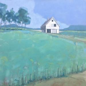 Barn in Midsummer Light by John Rufo