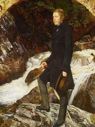 John Ruskin, 1854-John Everett Millais-Giclee Print