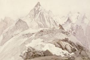 Aiguilles De Chamonix, C.1850 by John Ruskin
