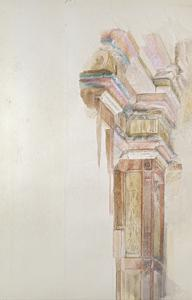 The Palazzo Gambacorti, Pisa, 27 - 30 April 1872 (Watercolour over Graphite on Wove Paper) by John Ruskin