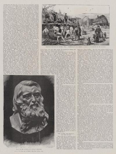 John Ruskin-Joseph Nash-Giclee Print