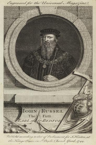John Russel, the First Earl of Bedford--Giclee Print