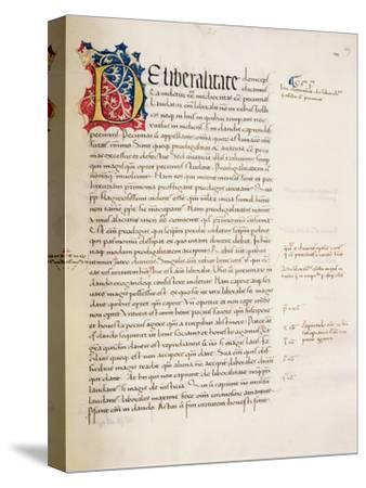 Ms.228, F.29R: Page from Aristotle's 'Nicomachean Ethics and Politics', 1452