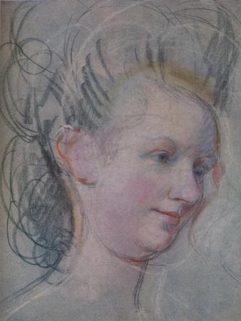'Sketch of a Lady's Head', c1791