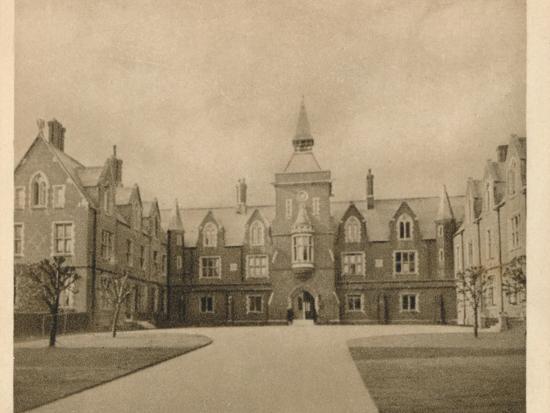 'John's School, Leatherhead', 1923-Unknown-Photographic Print