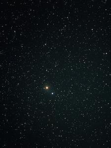 Optical Image of Mars Near the Bright Star Spica by John Sanford