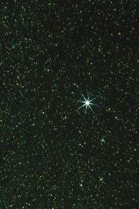 Optical Image of the Star Sirius by John Sanford
