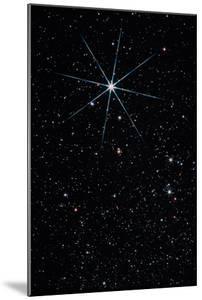 Star Vega In the Constellation of Lyra by John Sanford