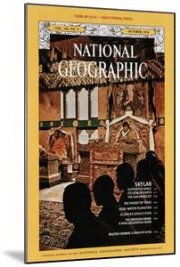 Cover of the October, 1974 National Geographic Magazine by John Scofield