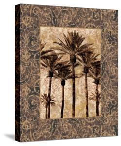 Palm Collage II by John Seba