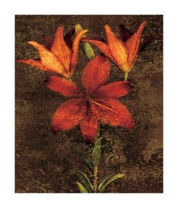 Red Lilies by John Seba