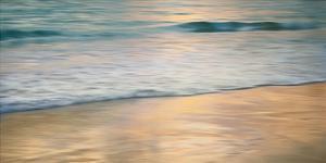 Shoreline Sunset by John Seba