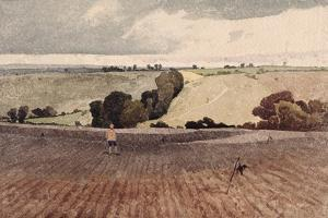 A Ploughed Field, C.1808 by John Sell Cotman