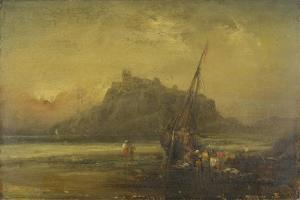 Beach Scene by John Sell Cotman