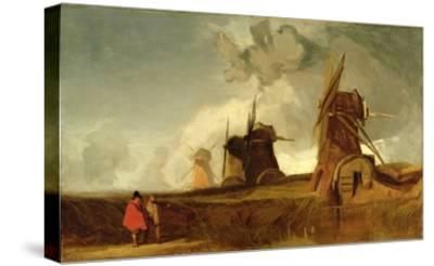 Drainage Mills in the Fens, Croyland, Lincolnshire, c.1830-40