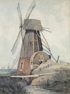Draining Mill in Lincolnshire, 1807-08 by John Sell Cotman