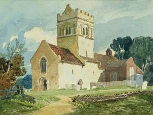 Gillingham Church, Norfolk by John Sell Cotman