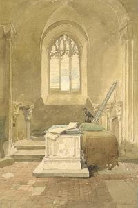 Jesus Chapel, Norwich Cathedral, C.1807 by John Sell Cotman